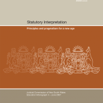 Cover for Education Monograph 4 - Statutory Interpretation