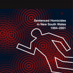 Research Monograph 23 Cover - Sentenced Homicides in New South Wales 1994-2001