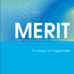 Research Monograph 24 Cover - Merit: Magistrates Early Referral Into Treatment Program: A Survey of Magistrates