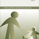 Research Monograph 25 Cover - Sentencing Offenders Convicted of Child Sexual Assault