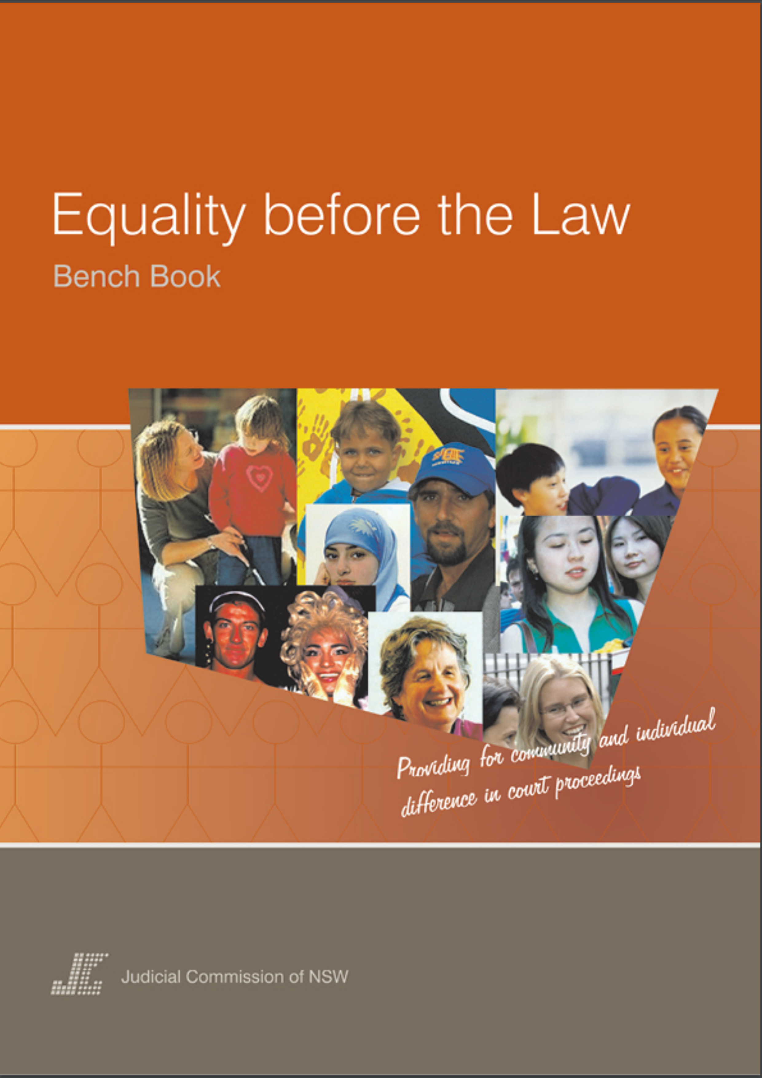 civil bench book equality before the law bench book